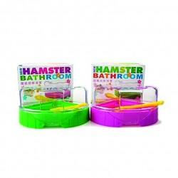 baño mediano para hamster